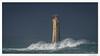 Autre phare : Nividic. (C. OTTIE et J-Y KERMORVANT) Tags: paysage phare mer océan nividic ouessant île finistère bretagne france