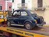 500 (maramillo) Tags: maramillo italy car 500 fiat auto coche small blue transport carry