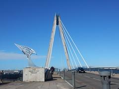 The Marine Way Bridge in Southport (deltrems) Tags: southport merseyside sky marinewaybridge marineway marine way bridge