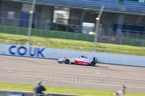 Johnathan Hoggard in British F4 pre-season testing 2018