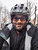 Hussein the Iranian cyclist in Sapporo City, Hokkaido, Japan (Robert Thomson) Tags: iranianinjapan cycletouring japan hokkaido wintercyclist wintercycletouring winter bicyclist iran iranian epic cold sapporo