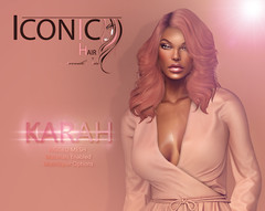 KARAH_BANNER (Neveah Niu /The ICONIC Owner) Tags: iconic iconichair tres shopping secondlife hair event neveahniu