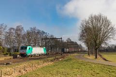 Lineas 2820 (186 212) Bathmen (Hans Wiskerke) Tags: bathmen overijssel nederland nl