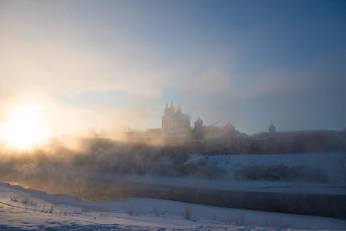 Sunny winter, Smolensk ©  Andrey