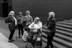 Seattle, WA. 2016 (Paul Millan) Tags: blackwhite blackandwhite candid cities seattle shadows streetphotography