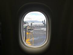 Neighbour (kevincrumbs) Tags: portland northeastportland portlandinternationalairport pdx kpdx alaskaairlines as horizonair qx bombardier dash8 dash8q400 airliner