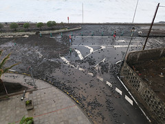 After the high tide and swell (Jackie & Dennis) Tags: lagomera vallegranrey stormdamage