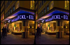 Roeckl Eck, München 3-D / CrossView / Stereoscopy / HDR / Raw (Stereotron) Tags: bavaria bayern munich münchen streetphotography urban citylife architecture availablelight crosseye crosseyed crossview xview cross eye pair freeview sidebyside sbs kreuzblick 3d 3dphoto 3dstereo 3rddimension spatial stereo stereo3d stereophoto stereophotography stereoscopic stereoscopy stereotron threedimensional stereoview stereophotomaker stereophotograph 3dpicture 3dglasses 3dimage twin canon eos 550d yongnuo radio transmitter remote control synchron kitlens 1855mm tonemapping hdr hdri raw