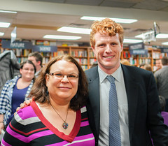 2018.03.20 Sarah McBride and Rep Joe Kennedy, Politics and Prose, Washington, DC USA 4128