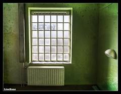 Lock Up.. (LiesBaas) Tags: gevangenis prison lostinthisworld sombresociety sombrebeings sombre privekamer onepersoncell green verlasseneorte urbex lostplaces abandoned lockupbyliesbaas