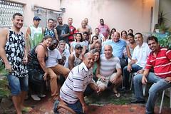 Caminhamos de rua em rua onde conheci pessoas alegres e recebi muita energia positiva dos moradores de Rocha Miranda, Bento Ribeiro e Osvaldo Cruz, bairros da zona norte do Rio.