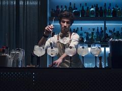 Ginlover's Bar (Markus Jansson) Tags: lissabon portugal bar night nightlife coctail bartender gin lights mixologist lisbon