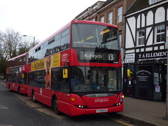 It's Been A Long Year Without You My Friend (londonbusexplorer) Tags: london sovereign ratp group scania n230ud omnicity sp40081 yt59ryg 13 183 aldwych golders green pinner north finchley victoria blind change tfl buses