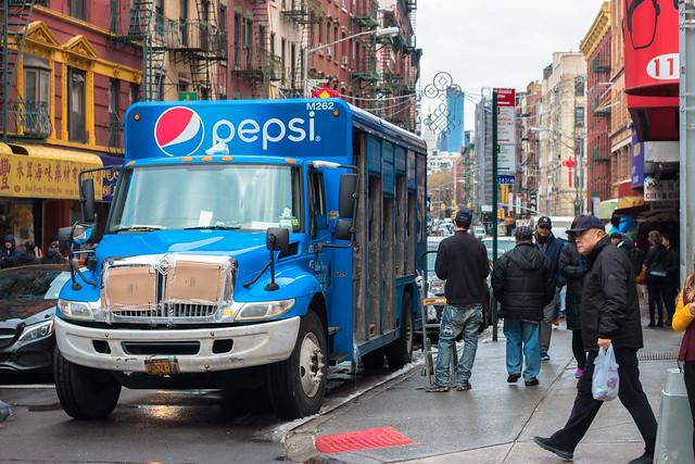 Pespi Truck