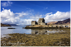 The Beautiful Castle Eilean Donan (Sharon Emma Photography) Tags: snow snowcappedmountains sunshine eileandonancastle eileandonan kyleoflochalsh dornie eileandonnain island lochduich lochlong lochalsh castle clanmackenzie clanmacrae iconic mountains rocky water loch sky clouds dramatic dramaticlandscape peninsula innerhebrides scotland scottishhebrides pictureperfect picturesque view nature naturalworld wildlife wild ngc beautiful pretty ideal stunning peaceful nikon nikond7200 d7200 sharonemmaphotography sharongoldring sharonemmagoldring sharondowphotography sharondow february2018 2018 holiday travelling