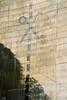 Yashica 107 Matilija Dam Scissors 1 (▓▓▒▒░░) Tags: california socal design style history architecture environment dam removal river access restoration reservoir canyon graffiti art analog vintage classic retro slr film camera 35mm
