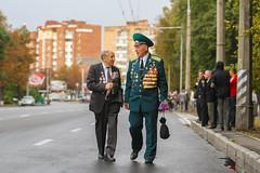 Ukrainian war veterans