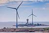 The Baltic Sea. Windmills on the islands Lilla Båtskär and Stora Båtskär in Finland. In the distance, the lighthouse Lågskär. (Franz Airiman) Tags: vindkraftverk windmill åland finland ahvenanmaa suomi baltic nyhamn fyr lighthouse klockarbådan östersjön lågskär