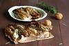 Crostoni di pane con hummus e radicchio grigliato 1 (Giovanna-la cuoca eclettica) Tags: tramezzini hummus radicchio verdura veg vegetables stagioni stilllife food healthy healthyfood inverno legumi