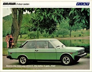 1979 Fiat Brava 2-Door Sedan