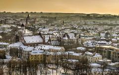 Il cielo sopra Vilnius (Fil.ippo) Tags: vilnius lithuania lituania panorama cityscape over sky snow neve roof tetto filippo filippobianchi travel viaggi nikon winter inverno city senamiestis lietuva вильнюс