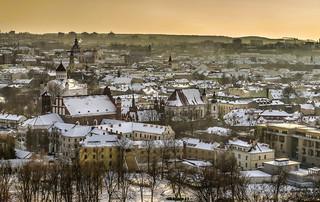 Il cielo sopra Vilnius