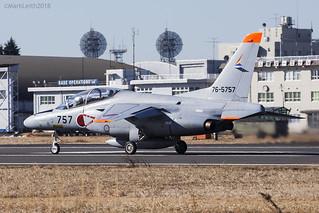 Japan Air Self Defence Force, Kawasaki T-4, 76-5757.
