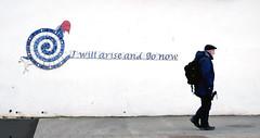 I will arise and go now! (DepictingPhotos) Tags: signs sligo street ireland