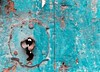 Sky lock (brunomalfondet) Tags: cusco vieux serrure porte bleu bois texture matiere pérou