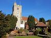 Holy Trinity Church, Rayleigh (Linda 2409) Tags: churchtower benches clock eglise iglesia kerk lhorloge reloj klok