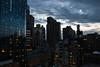 Manhattan sky (mathieunigay) Tags: new york nyc newyork usa city winter travel urban bloc center bigapple contrast outside light lights holidays street sky sunrise sun building skyscrapper manhattan