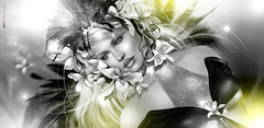 Bridɢeт... Sparkling like a beautiful comet! (AyE ღ I'м α vιѕιoɴΛЯT) Tags: digitalart digitalpainting digitalportrait digitalfantasy painting artworks portraits beauty illustrations artportrait ritratto retrato portrature dreamy vision magical emotionalart emotional devinewindmazie