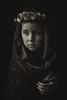 Skarlett (Sigita JP) Tags: portrait naturallight dark sad sepia
