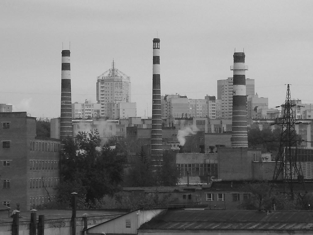 фото: Вид на завод Вектор