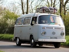 SAK 976S (Nivek.Old.Gold) Tags: 1977 volkswagen camper 1584cc latebay deliveryvan