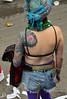 An Imaginative Sleeve (BKHagar *Kim*) Tags: bkhagar mardigras neworleans nola la parade celebration people crowd beads outdoor street napoleon uptown ink tattoo tattoos arm sleeve