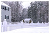 White on White (Timothy Valentine) Tags: 2018 centralstreet large snow friday 0318 datesyearss fence massachusetts unitedstates us