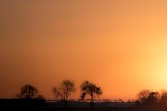 Lion sur Mer (Jacky Hervieux) Tags: landscape evening orange normandy lionsurmer color
