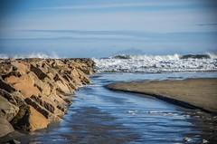 Weather Channel (Bud in Wells, Maine) Tags: wellsbeach wells maine storm winter surf breakwater jetty atlantic coast newengland