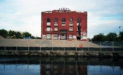 Gowanus (neilsonabeel) Tags: olympusxa2 olympus film analogue gowanus brooklyn newyorkcity industrial graffiti