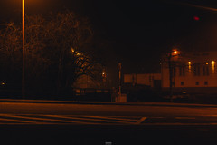 Eupen by night (Schynts Photography) Tags: eupen city lights lightning belgium street german night dark red orange summer vibe teinted good sombre sombresociety society nikon nikond5200 nikonfan longexposure lightpainting outdoor exploration underground downtown town country european photographer schyntsphotography landscape creepy