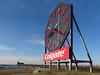 The Colgate Clock (nrg_crisis) Tags: colgateclock jerseycity iconic clock outdoors sky billboard advertisement