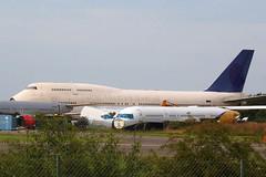 1999 Boeing 747-468 HZ-AIY - ex Saudi Arabian Airlines (anorakin) Tags: 1999 boeing 747400 hzaiy saudiarabianairlines kemble