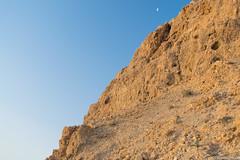 Spot the ibex! (sidranawaz) Tags: masada israel deadsea rock desert mountain ibex camouflage travel wildlife sunrise sky goldenhour hike hiking