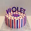 VIOLET (ladybugdiscovery) Tags: cake violet purple pink mauve vanilla