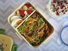 Bento 559 (Sandwood.) Tags: meal food bento lunch lunchbox cooking noodles fried vegetbles mushrooms yoghurt egg