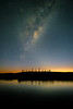 Star Catcher (ajecaldwell11) Tags: xe3 awatoto sunrise milkyway ankh astrophotography water celestialcompass fujifilm light tide newzealand waitangi napier night ateaarangi stars sky pou clouds caldwell hawkesbay dawn