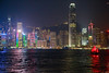 Hong Kong at night (ncs1984) Tags: hong kong hongkong asia canon canon6d 6d long exposure night dusk light lights electric electriclights travel skyline water reflection color colour colors colours harbour boat ship junk