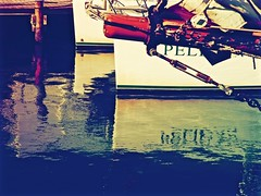 Oil And Water (Professor Bop) Tags: oil water professorbop drjazz keywestflorida pier dock olympusem1 reflections