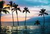 Another Chance (Thomas Hawk) Tags: america fourseasons fourseasonsmaui fourseasonsresort hawaii maui usa unitedstates unitedstatesofamerica wailea infinitypool pool serenitypool sunset swimmingpool kihei us fav10 fav25 fav50 fav100